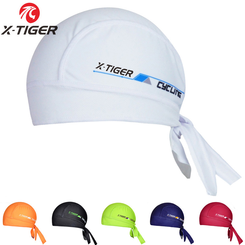 X-Tiger 6 Colors Summer Bike Ciclismo Scarf Bandana/100% Polyester Breathable Cycling   Headwear  /MTB Bicycle Caps Headbands