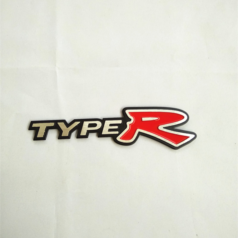 2019 3D Typer Type R Racing Emblem Badge Logo Decal Sticker JUN21