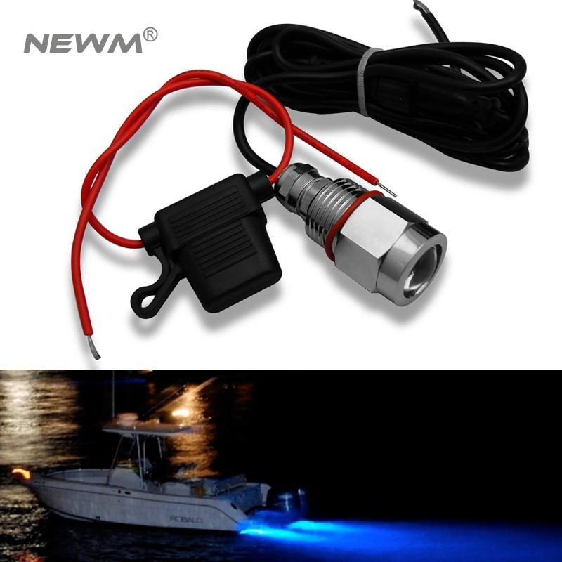 12V LED Marine  Ship Boat Light Truck Car Wall Lamp Waterproof Yacht Lamp  IP68