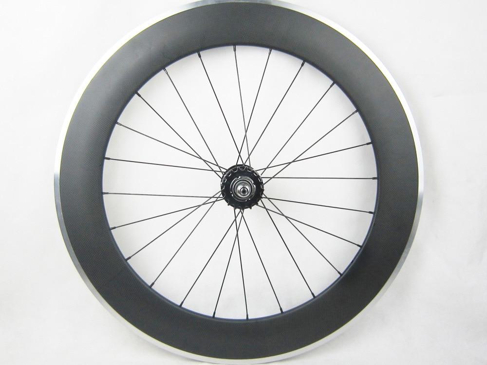 custo de transporte gratuito de carbono bicicleta single custo de transporte gratuito de carbono bicicleta single speed 80 mm de carbono roda da bicicleta da trilha 700c superfcie de travagem de alumnio fandeluxe Images