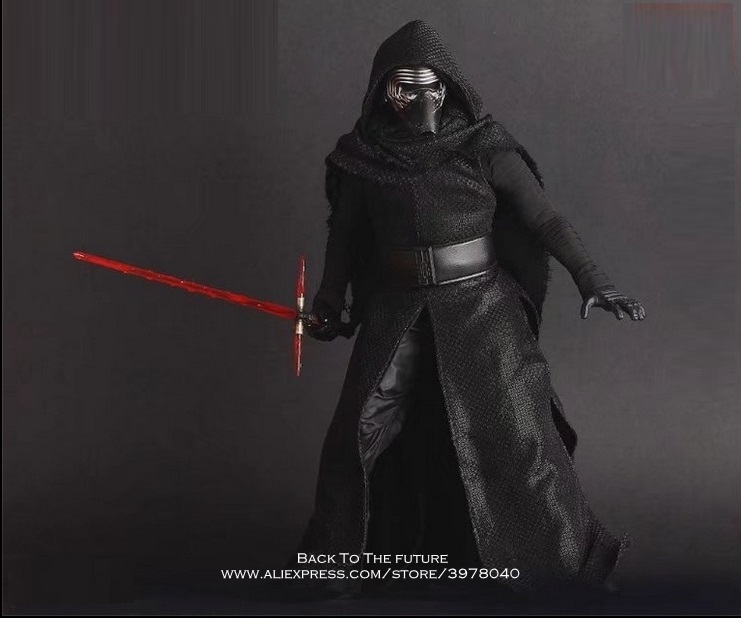 Disney Star Wars Kylo Ren 29.5cm Action Figure Posture Model Anime Decoration Collection Figurine Toys model for children gift cartoon fight hero star model desktop decoration gift