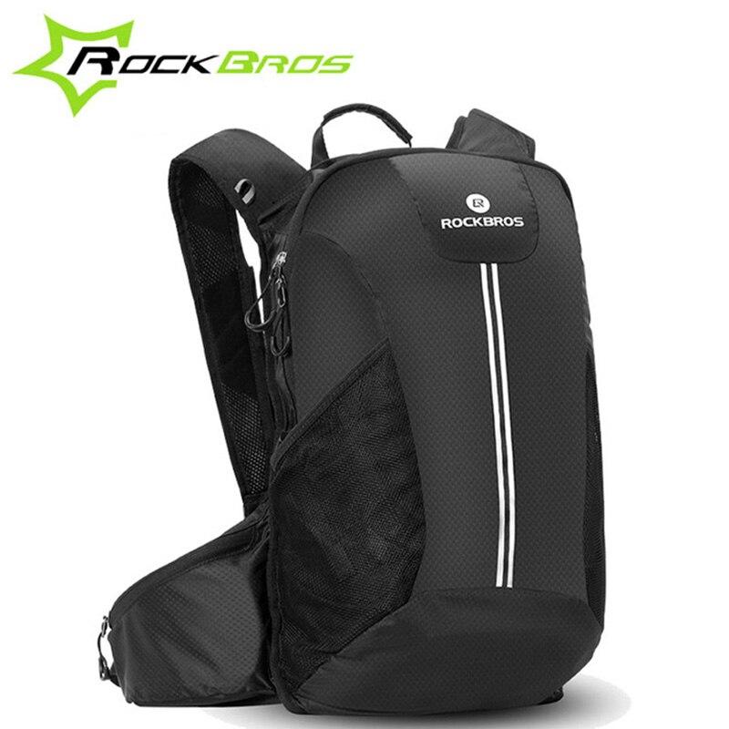 ROCKBROS grande capacité vélo sac à dos pour vélo voyage randonnée Camping étanche à la pluie sac à dos Sport de plein air vtt vélo de route sac