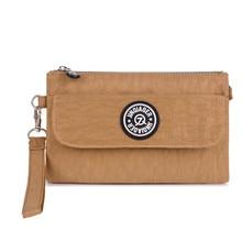 Для женщин Курьерские сумки Водонепроницаемый нейлон день сцепления кошелек Повседневное небольшая сумка для девочек Женский Tote Сумки браслет Bolsa