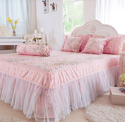 bedspread princess bed skirt lace bedspread 8 pieces set owedding bed products