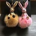 Животное кролик формы кролик ручной сумки очарование, брелок брелок сумка шарм
