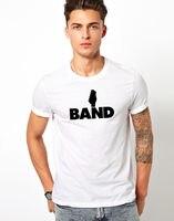 Baixo T-shirt do Headstock Da Guitarra Elétrica Acústica Da Música Pop Rock Club Presente Tee T