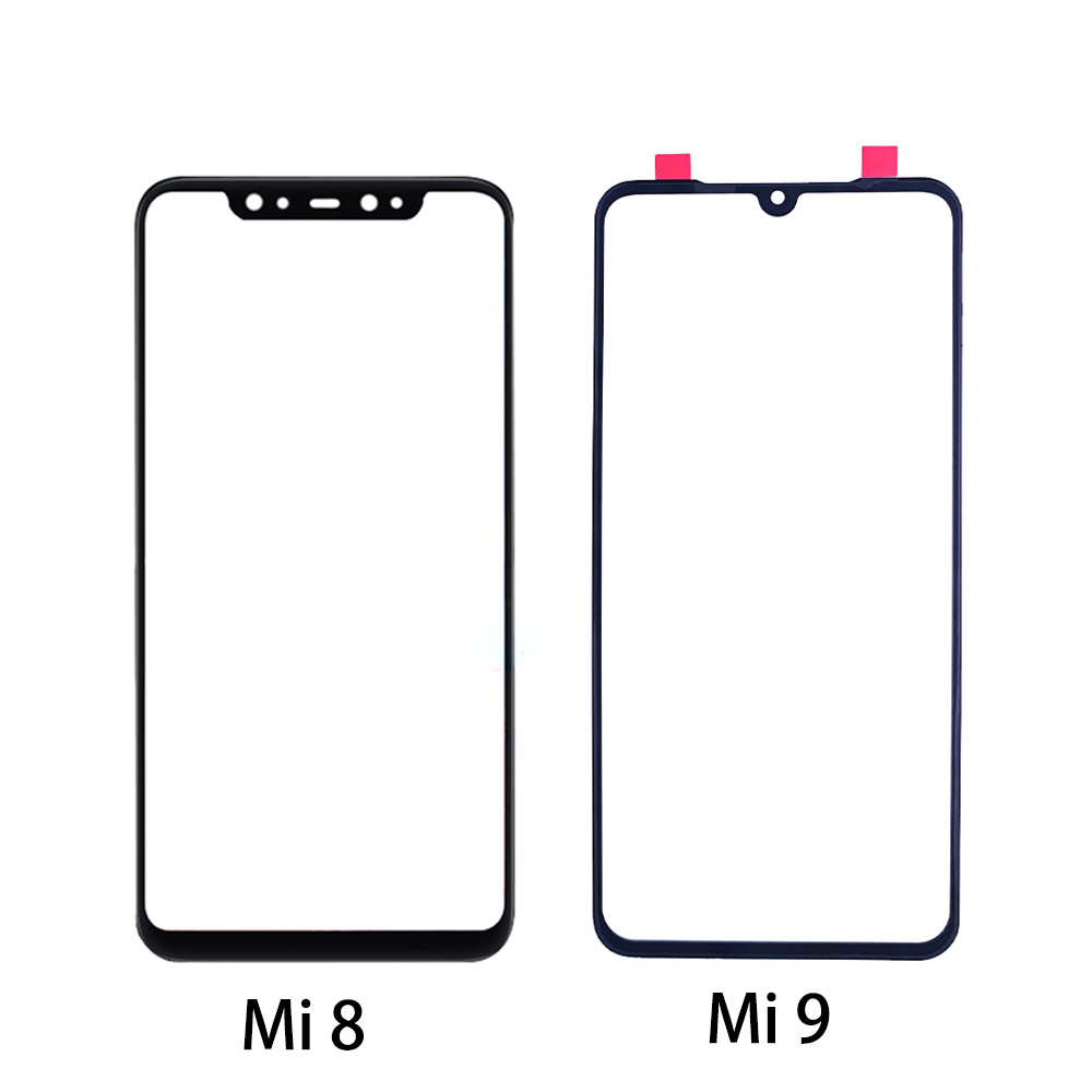 For Xiaomi Mi9 Mi8 Lite Mi 9 SE LCD Outer Touch Screen Cover Panel Front Glass Lens Repair Replacement Part