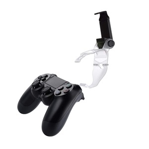 Image 5 - Yoteen Accessories for Sony PlayStation 4 PS4 Smart Phone Clip Clamp Mount Stand Bracket Phone Clip Holder for Dualshock 4