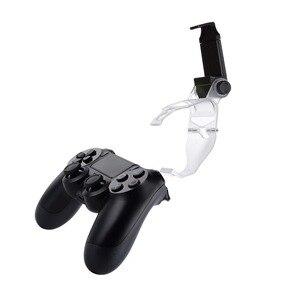 Image 5 - Yoteen aksesuarları Sony PlayStation 4 için PS4 akıllı telefon klip kelepçe dağı Stand braketi telefonu klip tutucu Dualshock 4