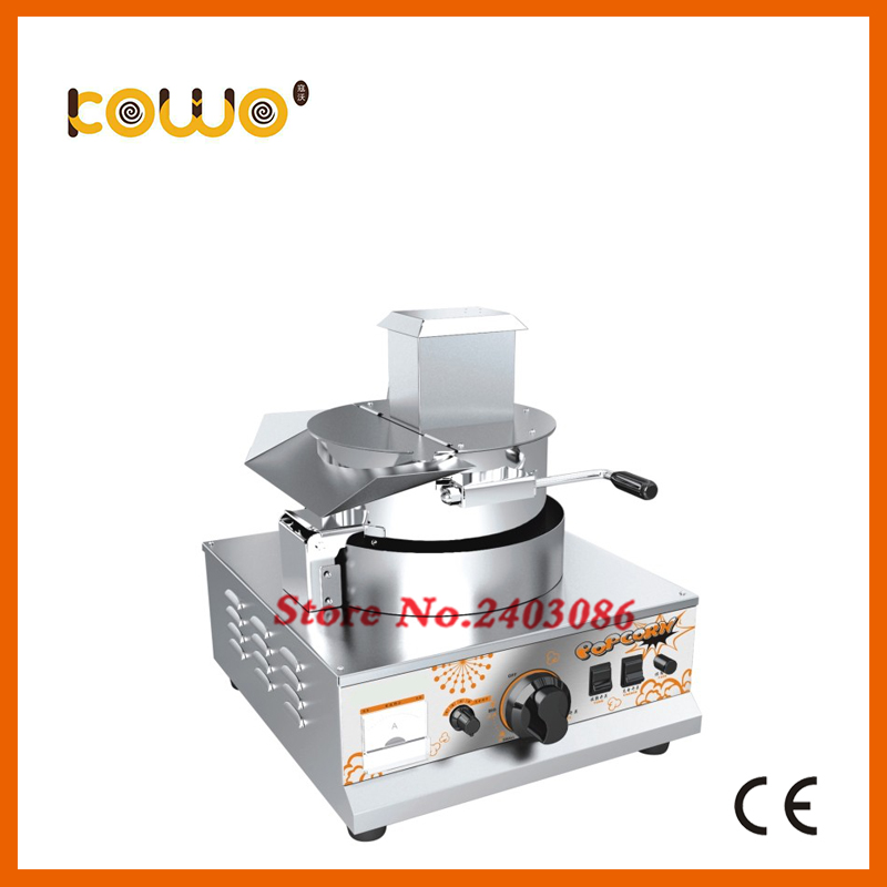 high quality counter top stainless steel cinema hot air 10Oz gas popcorn maker popcorn machine commercial with high output 10oz stainless steel 110v 220v electric commercial popcorn machine with temperature control