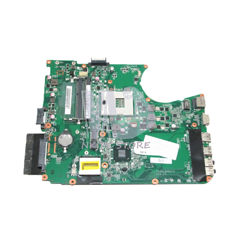 NOKOTION A000080670 DABLBMB16A0 MAIN BOARD For Toshiba Satellite L755 Laptop Motherboard HM65 UMA DDR3 for toshiba satellite l755 laptop motherboard intel hm65 ddr3 socket pga989 a000080670 100% tested good