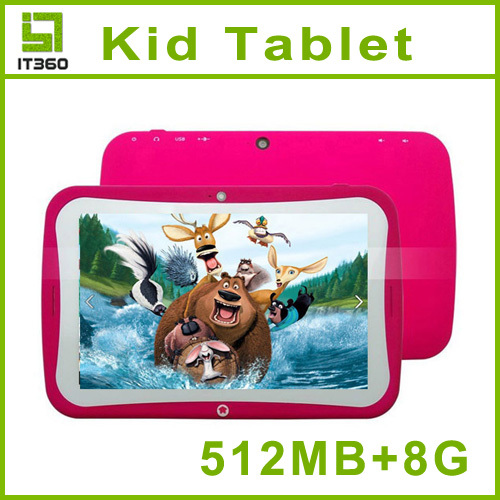 US $59 99 |BENEVE R70AC Kids Tablet PC Children Educational 7 inch Dual  Core RK3026 Android 4 2 512MB RAM 8GB ROM Kids Games Apps on Aliexpress com  |