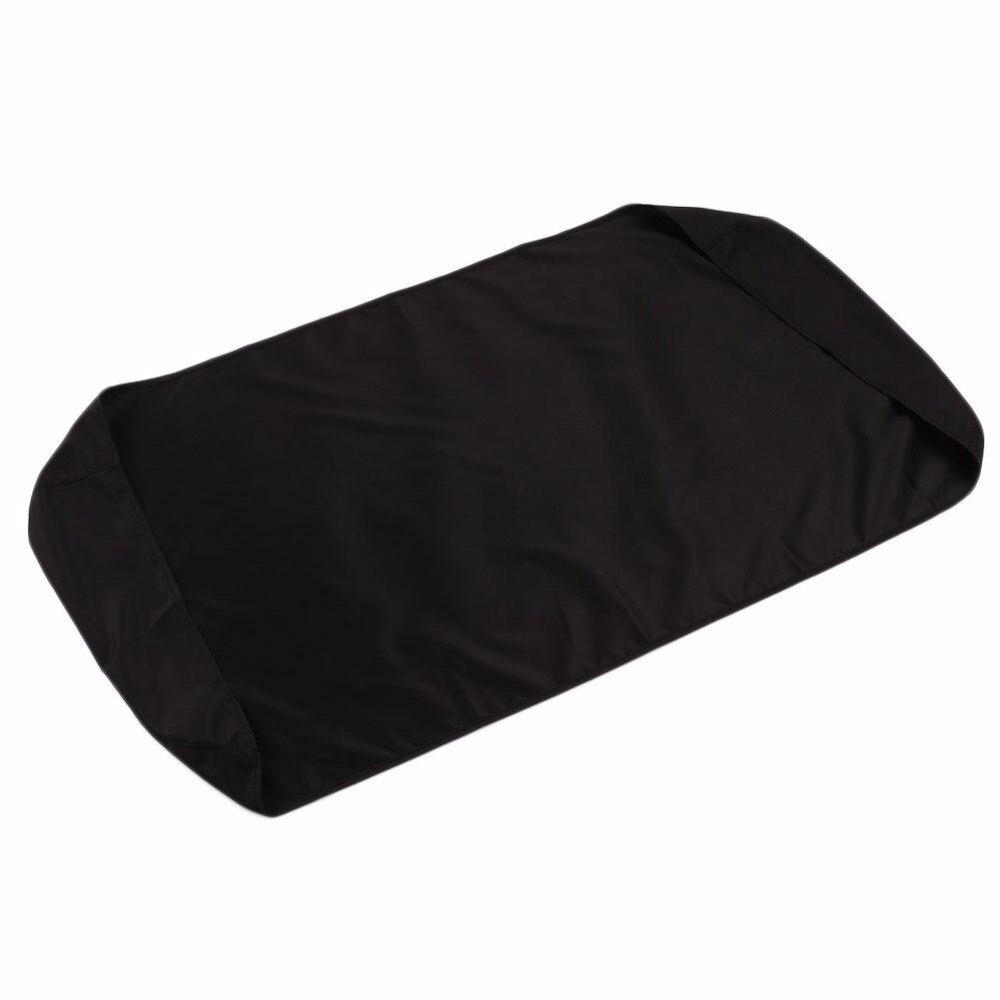 Черный Пианино пыле ламинирования ткани Пианино клавиатура пыли Простыни для 88-электронный ключ Пианино крышка