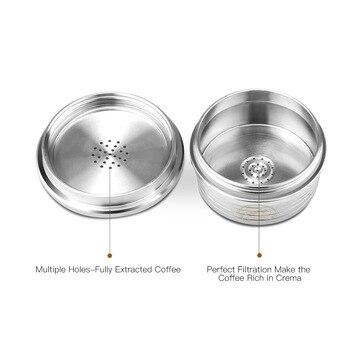 Кофейная капсула многоразовый фильтр из нержавеющей стали для Delta Q NDIQ7323 аксессуар многоразовый фильтр для кофе