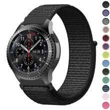 22mm 20mm Nylon Loop Band For Samsung Galaxy Watch 46mm 42mm Strap For Samsung Gear S3 Classic Frontier Gear S2 Huami Amazfit(China)
