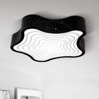 Starfish geometry LED Personality atmosphere study room living room lamp modern simple bedroom celling lamp