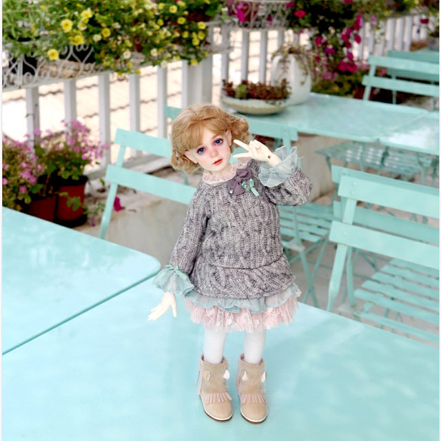 Free Shipping BJD Dolls Dollshe Rosa Classic 1/4 6G Pretty Innocent High Quality Resin Girl Toys Best Gift DS Oueneifs  2