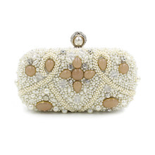 1deb7308cd44 luxury crystal clutch evening bag party purse women wedding bridal handbag  pouch soiree pochette for lady white pink blue green