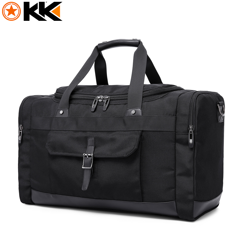 KAKA Large Capacity Men Travel Bags Waterproof Duffel Bags Oxford Male Leisure Multifunction Handbags Fashion Shoulder