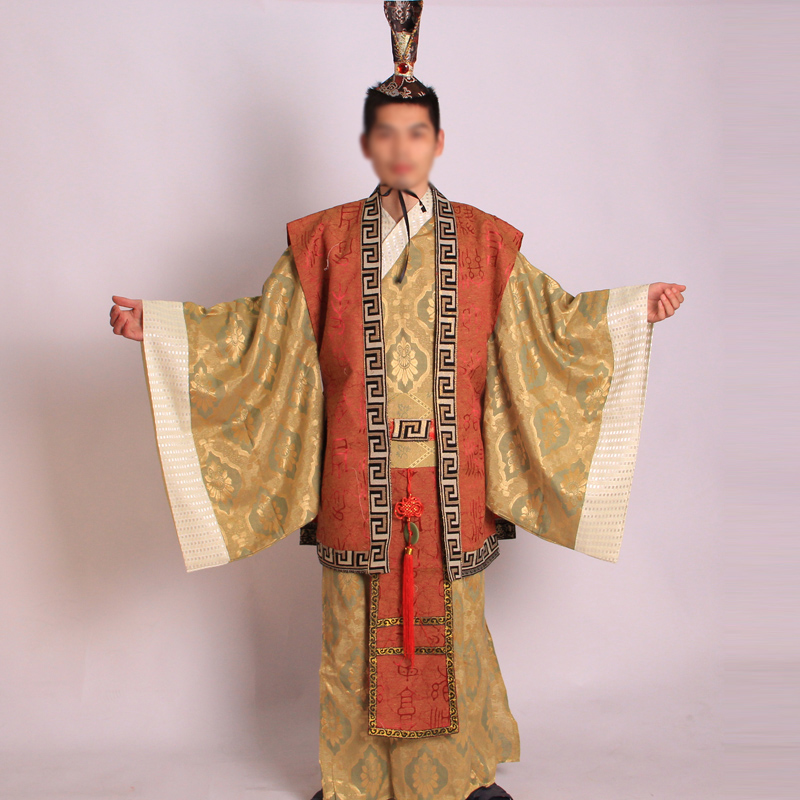 Hot DealsSuit Dance-Costumes Emperor Hanfu Traditional Ancient Men Hmong Direct-Selling Men's