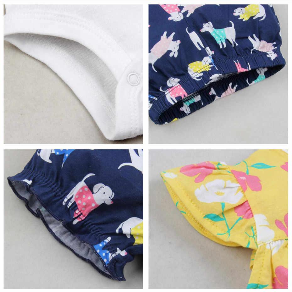 ¡Novedad de Verano de 2020! conjunto de 3 piezas de ropa de princesas para niñas, Conjunto de 6 M-24 M, accesorios para bebés, Disfraces para bebés