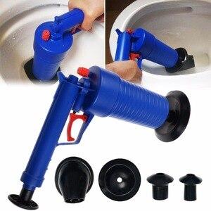 Image 3 - אוויר כוח ניקוז Blaster אקדח בלחץ גבוה עוצמה ידנית כיור טובל פותחן משאבה שואב אמבטיה שירותים אמבטיה מקלחת