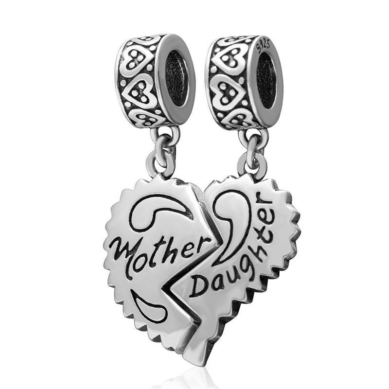 pandora charms madre e figlia