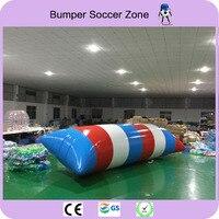 Free Shipping 8*3m 0.9mm PVC Inflatable Water Blob Blob Jump Water Toys Water Blob Jumping Bag Inflatable Aqua Trampoline