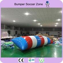 Livraison gratuite 8*3 m 0.9mm PVC gonflable eau Blob Blob saut eau jouets eau Blob saut sac gonflable Aqua Trampoline