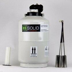Contenedor de nitrógeno líquido 10 L sólido de EE. UU. Tanque criogénico LN2 tanque de nitrógeno líquido Dewar LN2 6 recipientes