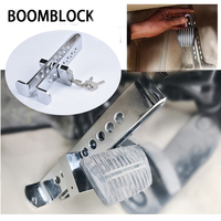 BOOMBLOCK 1set Car Anti Theft Lock Brake Steel For Peugeot 307 206 Jeep Ford Focus 2 3 VW Polo Golf 4 5 7 Touran T5 T4