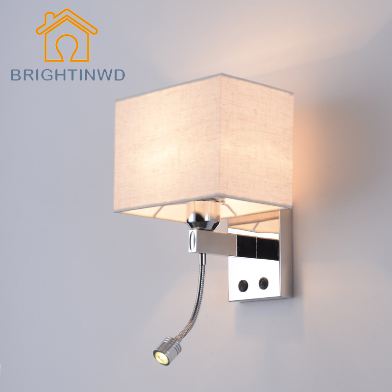 modern wall lights for bedroom modern minimalist bedside led bedroom reading wall lamp 19295