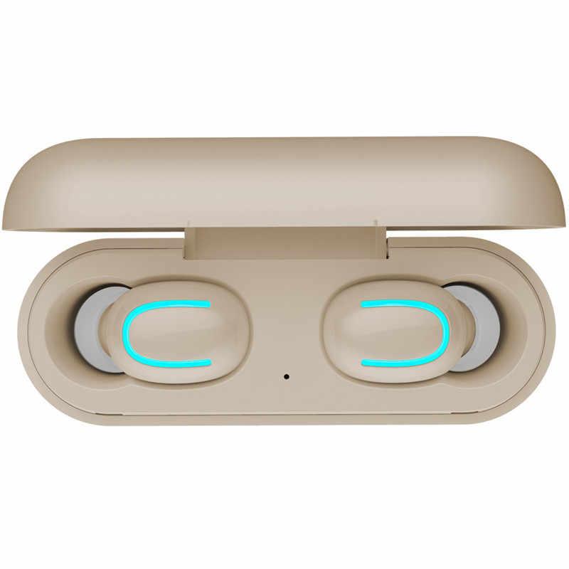 TWS auriculares Ture auriculares inalámbricos HBQ Q32 Bluetooth 5,0 auriculares con micrófono Mini Bluetooth auricular inalámbrico PK i10