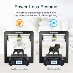 Image 4 - ANYCUBIC 3D מדפסת I3 מגה Impresora 3D ערכת מלא מתכת מסגרת גדול הדפסה בתוספת גודל מגע מסך 3D דרוקר מדפסות