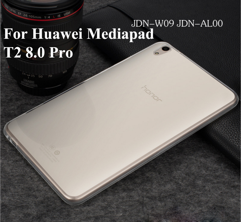 For Huawei Mediapad T2 8 Pro soft rubber case For Huawei Honor Tablet 2 JDN-W09 JDN-ALOO Cover cover case for huawei mediapad m3 youth lite 8 cpn w09 cpn al00 8 tablet protective cover skin free stylus free film