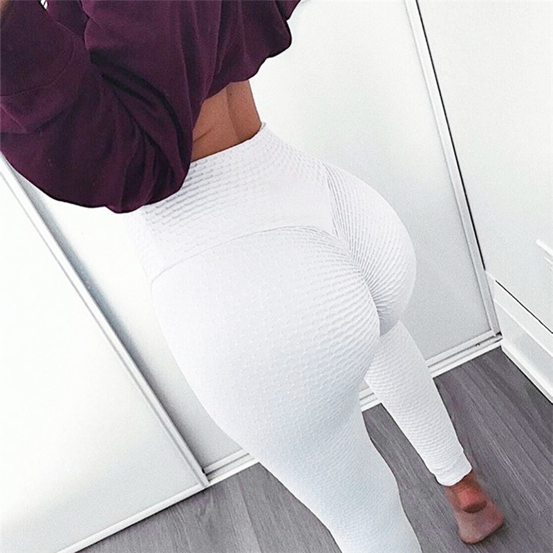 SVOKOR Sexy Clothing High Waist Pants Female Workout   Leggings   Solid Push Up   Leggings   Women Fitness Pure Color Wild   Leggings