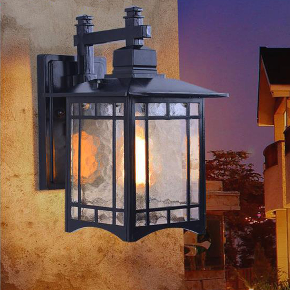 Buitenlamp Modern Led Wall Light Outdoor Wall Lamp Waterproof 10w E27 Base China Style Buitenlamp For Garden Courtyard