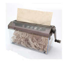 Мини-Шредер уничтожитель бумаги документы режущий станок Шредер ручной измельчитель бумаги Document файл инструмент для школы Off