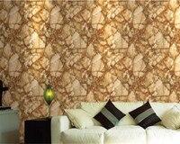 beibehang papel de parede Classic realistic marble stone retro rock pvc 3d wallpaper hotel decoration background wall paper