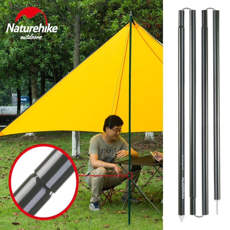 Naturehike En Alliage D'aluminium Et Peinture Tente Pôle Grand Approprié Pour Camping Randonnée Plage Facile compact Léger Comme Soutien Tente