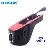 WIFI Car DVR Dash Cam Video Recorder car cameras Dvr App phone connect 1080P Mini Smart Hidden Car Dash Cam Driving Recorder