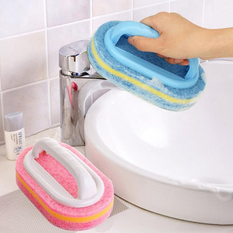 Kitchen Cleaning Brush Kitchen Cleaning Brush Toilet Kitchen Glass Wall Cleaning Plastic Bath Household Washing Tools Cleaner
