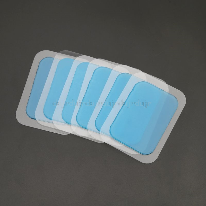6/12pcs Fitness Equipments Accessories Muscle Abdominal Exercise Machine Hydrogel Mat Pad Gel Sticker Patch Replacement N21