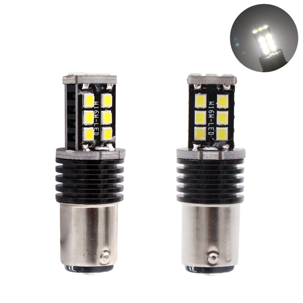 YIJINSHENG 2pcs 1157 12V 2835 SMD led High Power lamp 21/5w led car bulbs brake Lights Source parking Canbus White Red Yellow carprie super drop ship new 2 x canbus error free white t10 5 smd 5050 w5w 194 16 interior led bulbs mar713