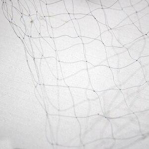Image 5 - גבוהה באיכות עמוק כיסי ניילון Monofilament 0.08mm 6M x 2.4M 15mm חור פרדס גן אנטי ציפור מסוקס ערפל נטו 1pcs