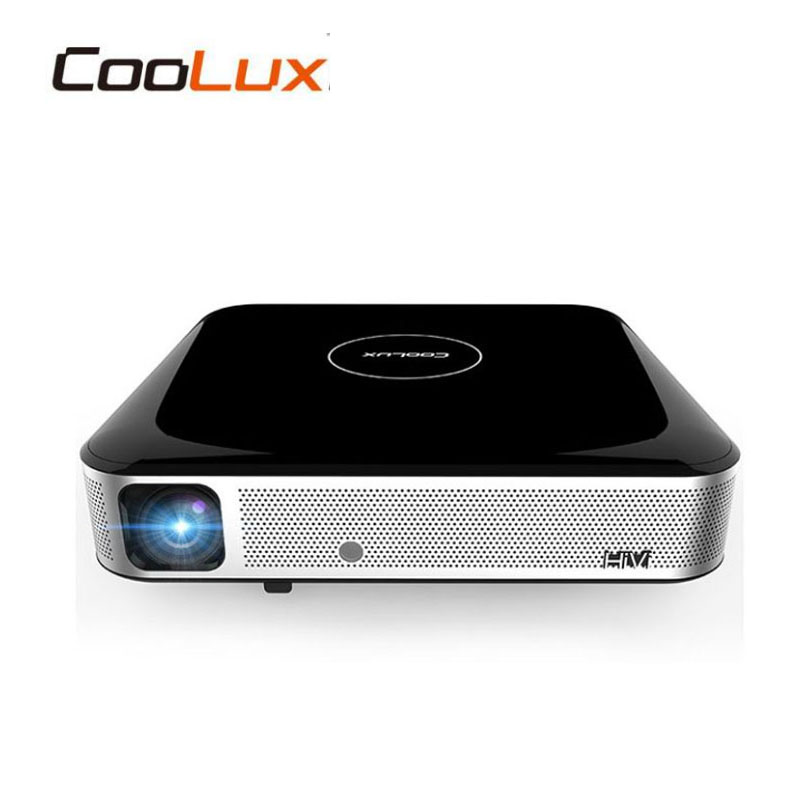 WZATCO S3 Android4 4 WIFI Airplay Miracast Brightest 3D LED mini 4K Cinema Smart projector Beamer