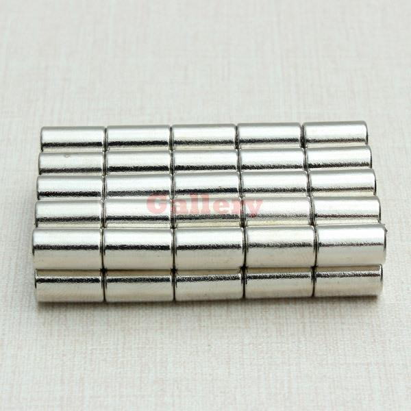 150pcs N52 Strong Neodymium Magnets Discs Cylinder Rare Earth 6x10mm