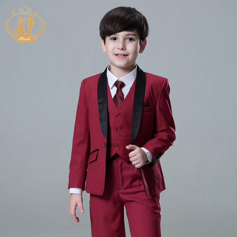 5pcs/Set Boys Suits For Weddings Kids Prom Suits Wedding Suits Kids Blazers Boys Clothing Set Boy Formal Classic Costume high quality school uniform new fashion baby boys kids blazers boy suit for weddings prom formal gray dress wedding boy suits