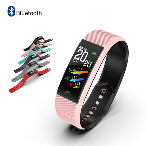 2019 New IP68 Waterproof Sports Smart Watch Men Women Sports Pedometer Blood Pressure Oxygen Monitoring Smartwatch+ Box Lahore