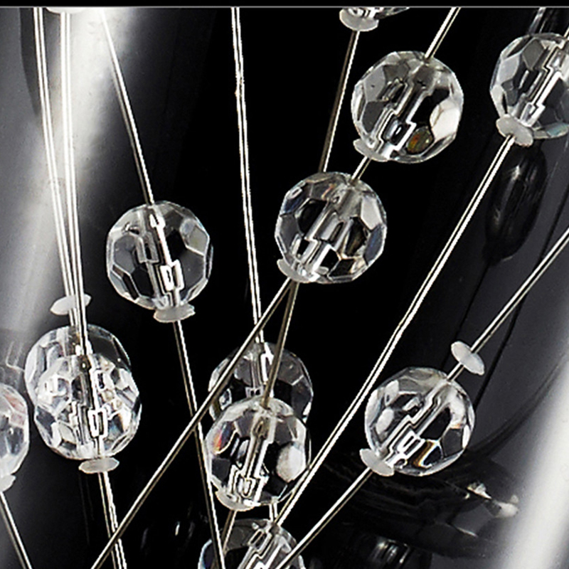 moderne kurze elegante 15 watt led kristall kronleuchter 3 kpfe rechteckige platte trommel licht freies verschiffen kronleuchter beleuchtung in moderne - Kronleuchter Licht Mit Trommel